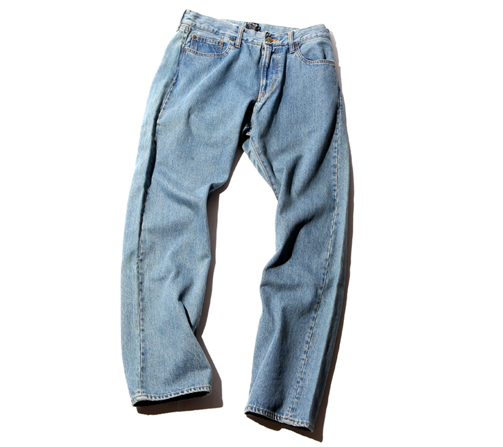 5 POCKET USED DENIM PANTS