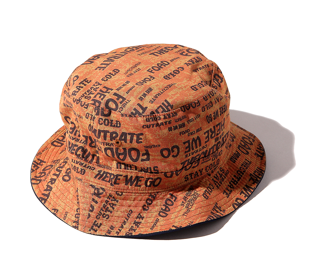 ALLOVER PATTERN BUCKET HAT