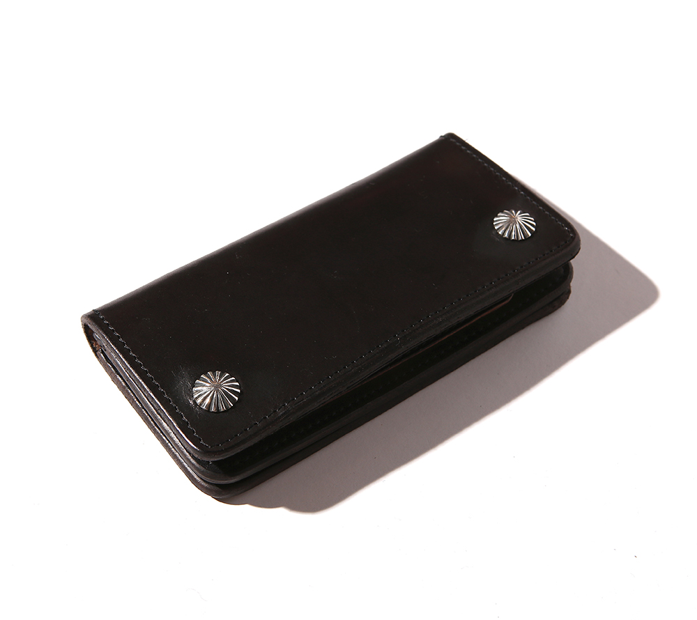 CONCHO LEATHER WALLET