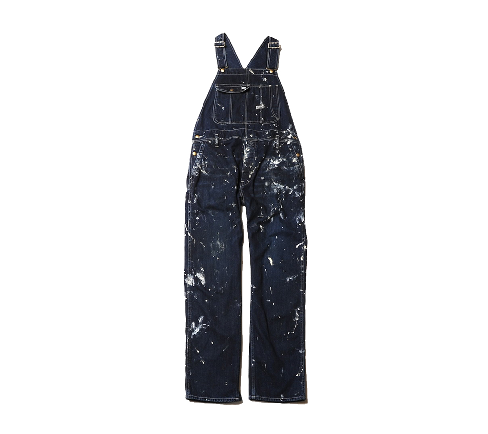 USED PAINTING DENIM OVERALL