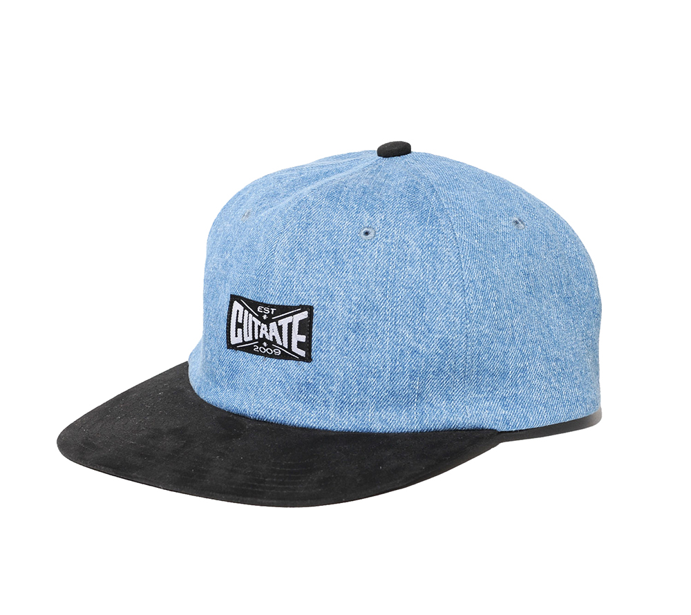 DENIM COMBINATION CAP