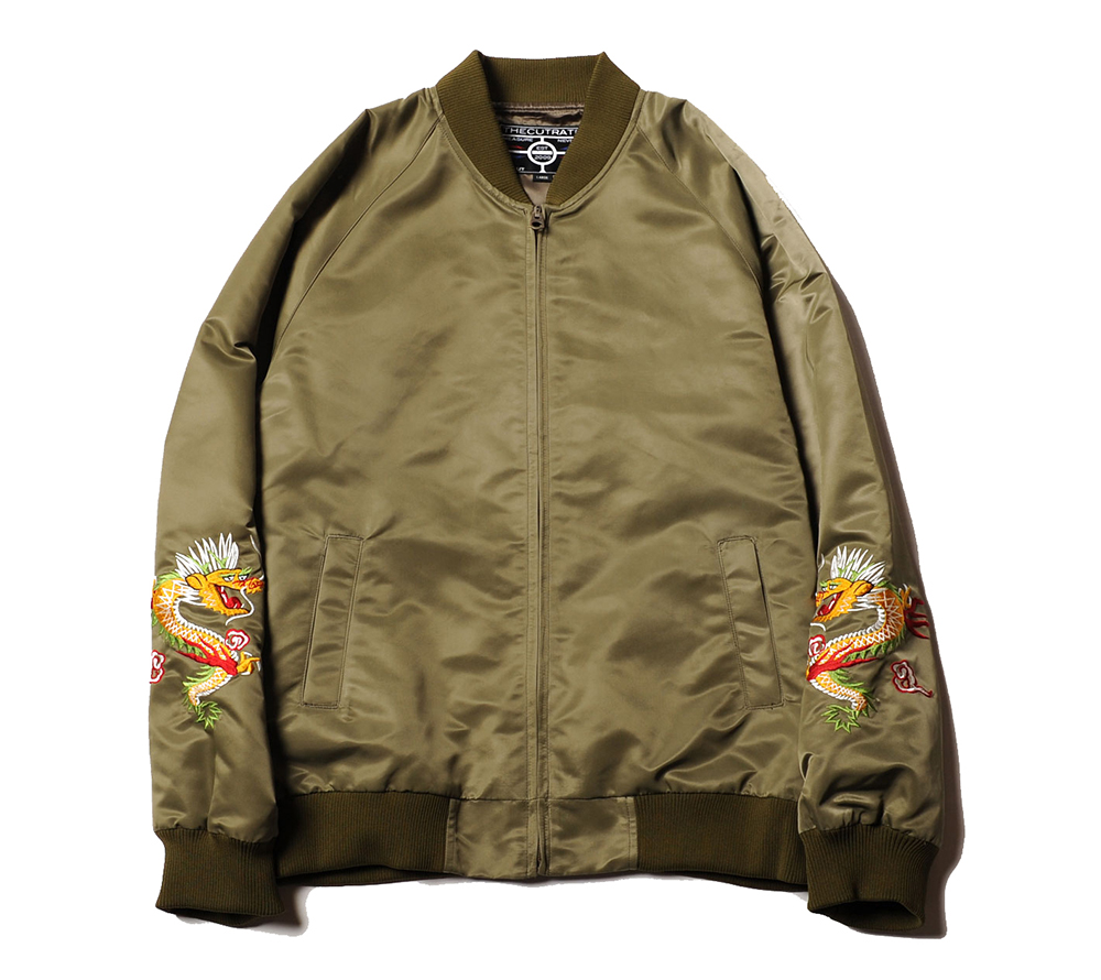 NYLON SOUVENIR JACKET