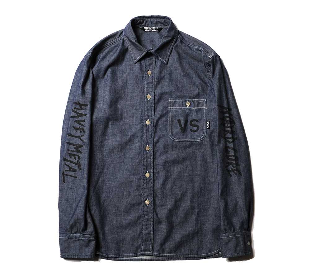 L/S VERSUS CHAMBRAY SHIRT