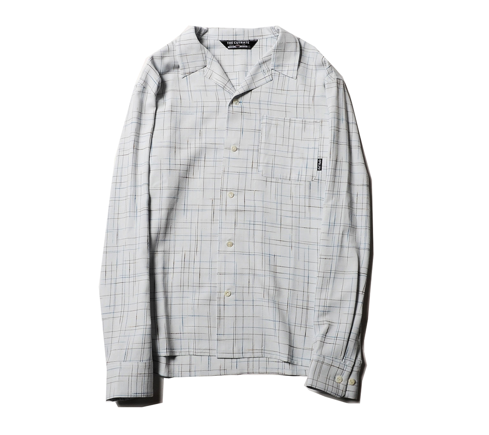 L/S SPLASHED PATTERN SHIRT