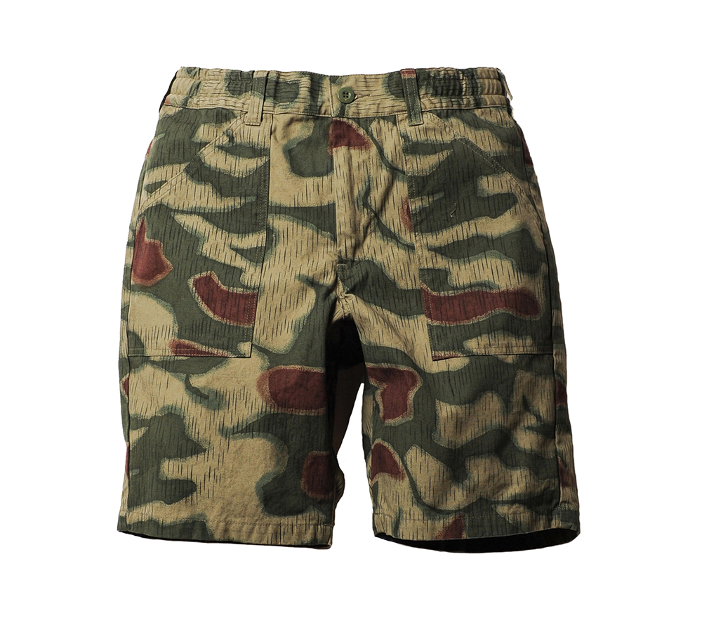 GERMAN CAMO EASY SHORT PANTS