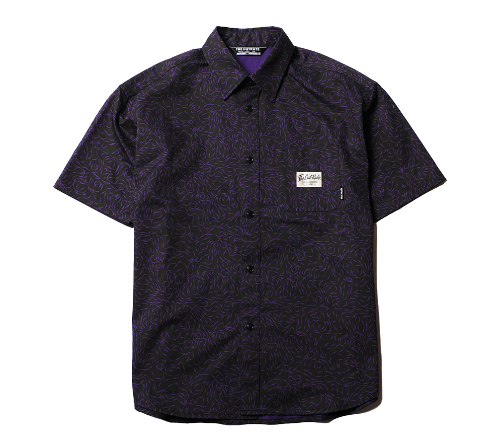ALLOVER PATTERN S/S SHIRT