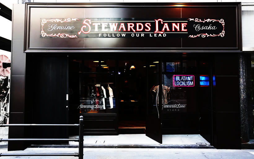 STEWARDS LANE OSAKA