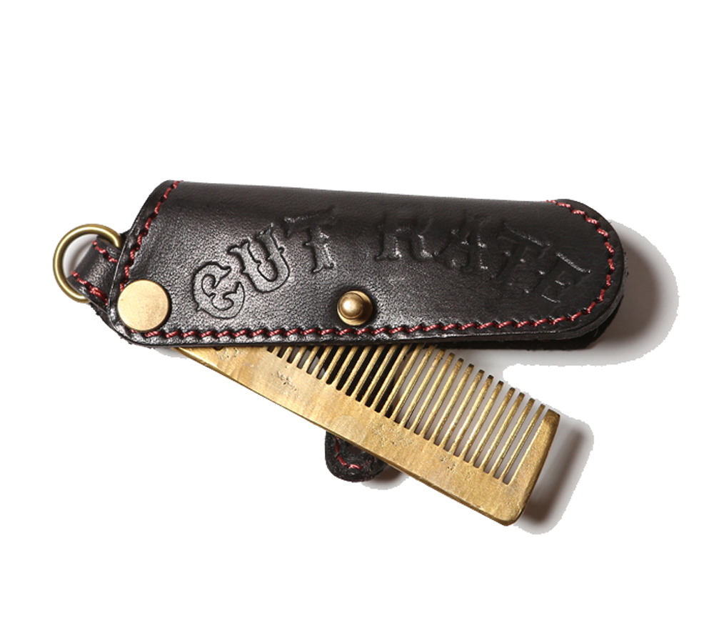 LEATHER COMB