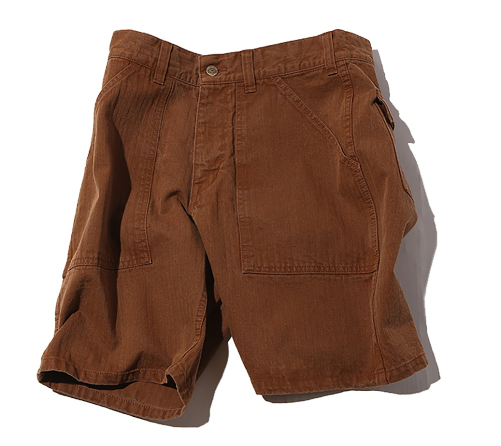 HERRINGBONE BAKER SHORT PANTS