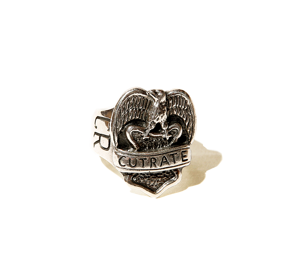 EAGLE RING<SILVER>