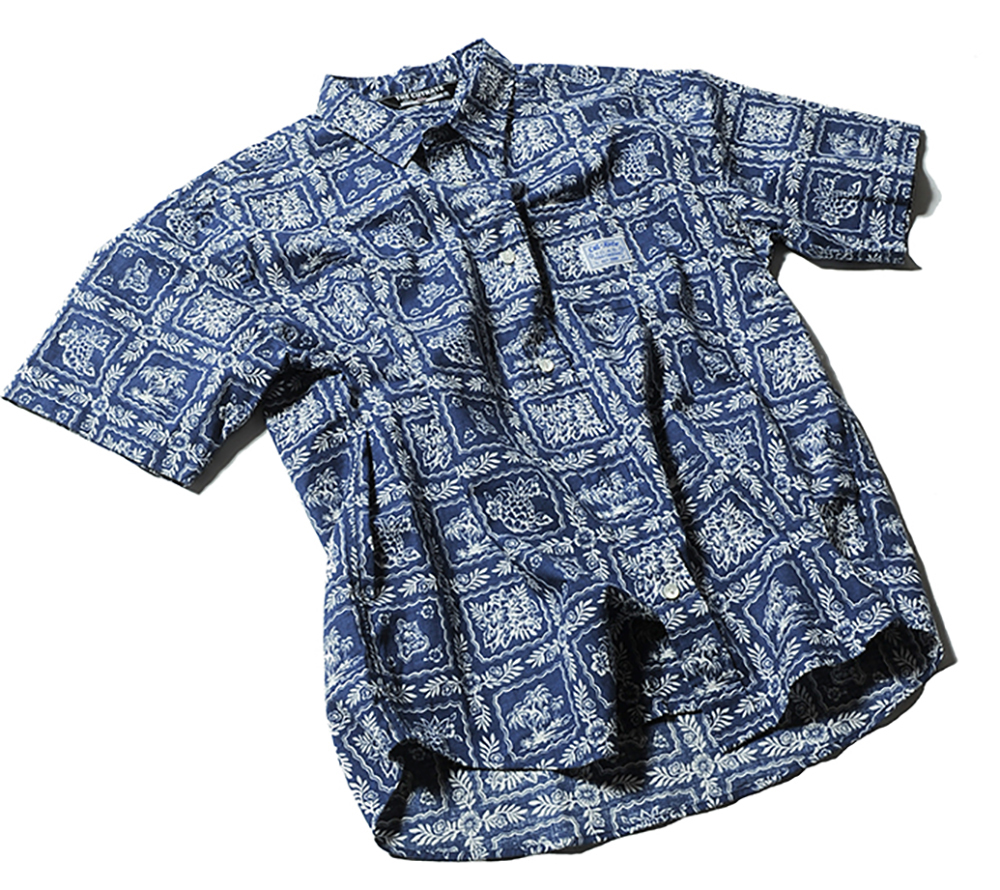 S/S ALLOVER PATTERN SHIRT