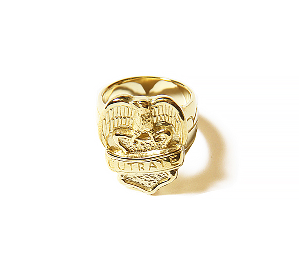 EAGLE RING<GOLD>