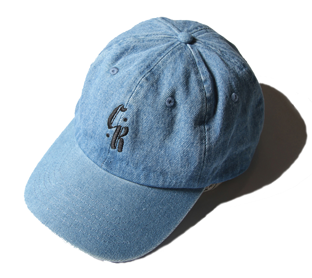 DENIM EMBROIDERY CAP