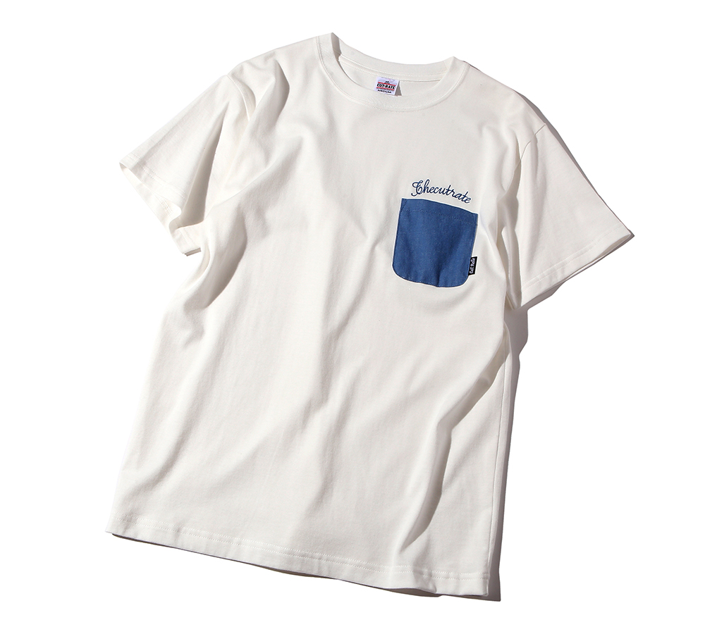 DENIM POCKET T-SHIRT