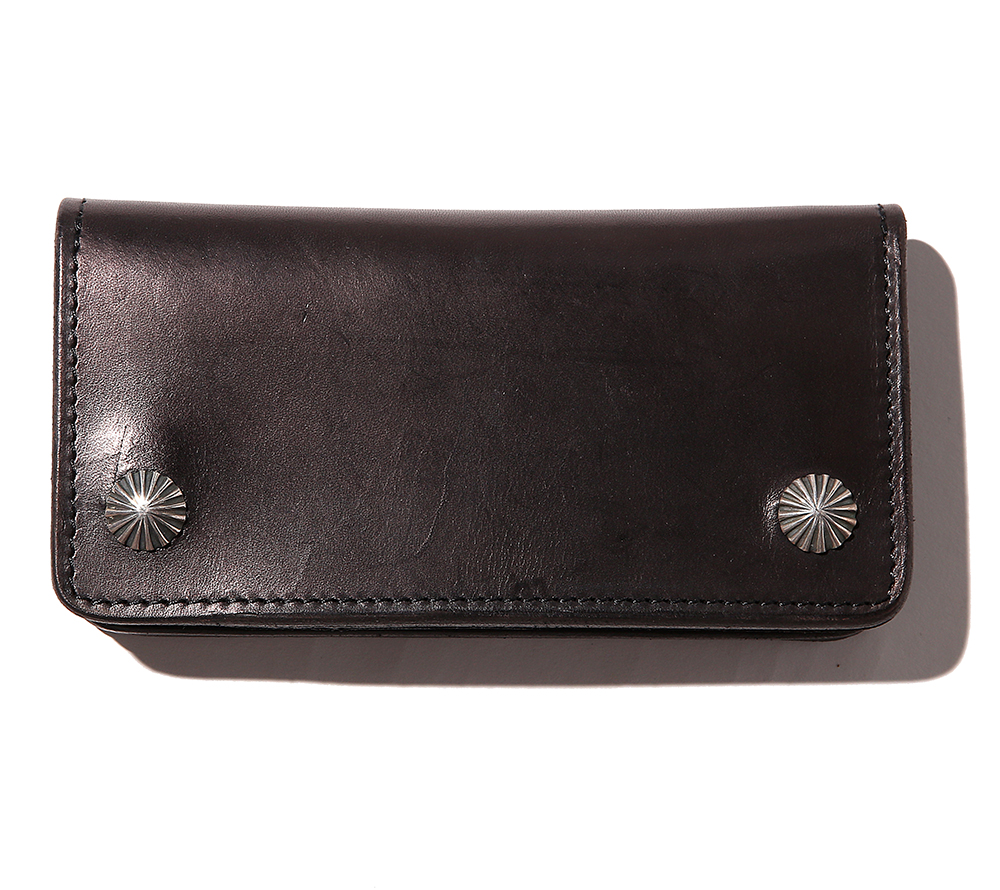 LEATHER CONCHO WALLET