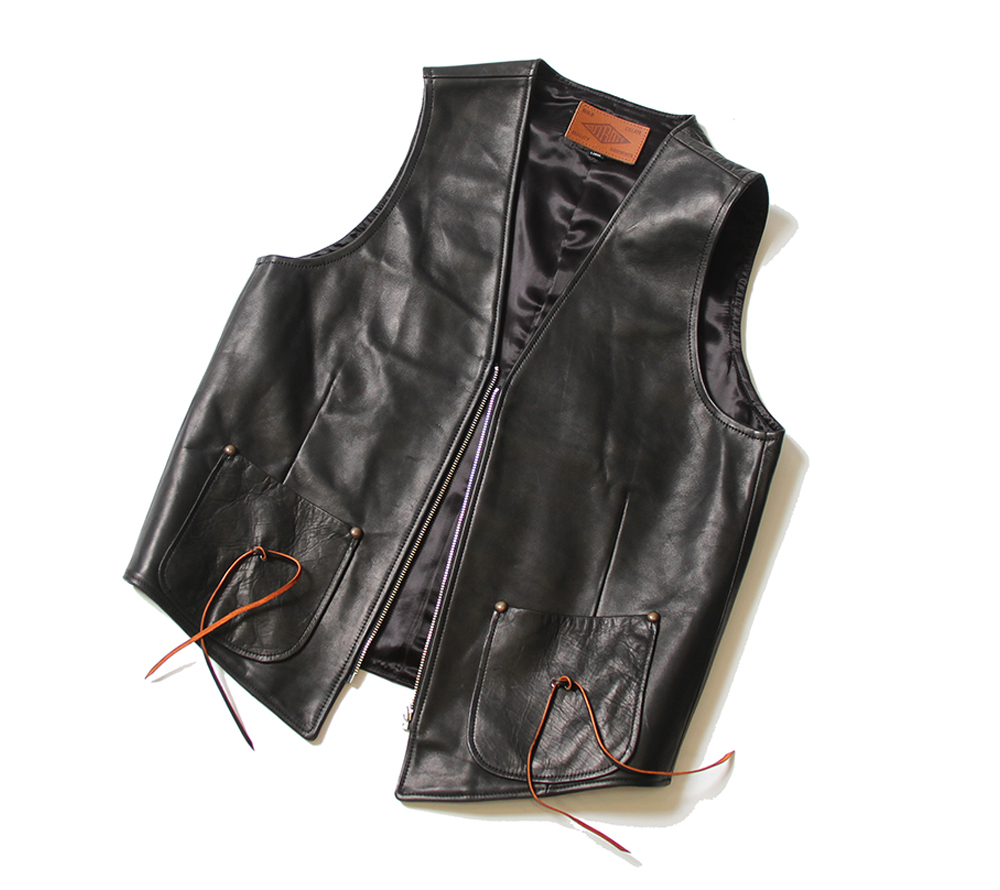 HORSE LEATHER VEST