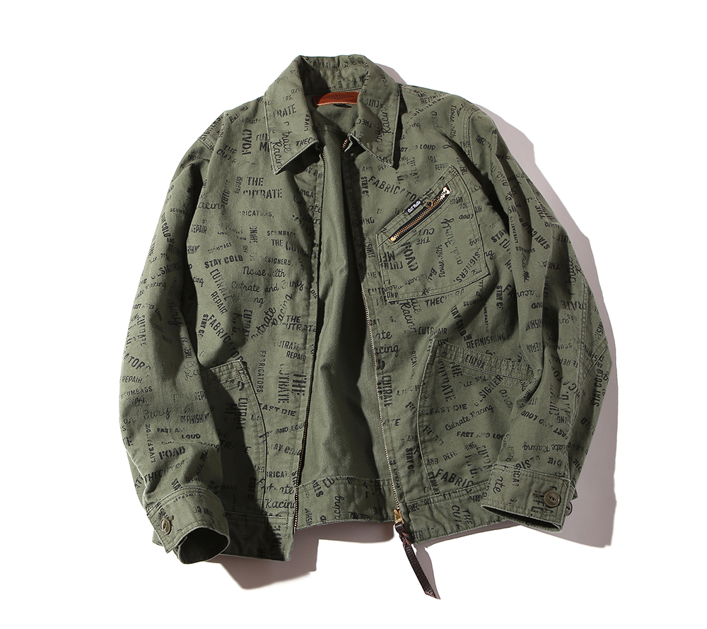 ALLOVER PATTERN 91-B TYPE JACKET