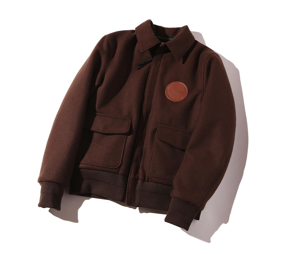 WOOL A-2 TYPE JACKET