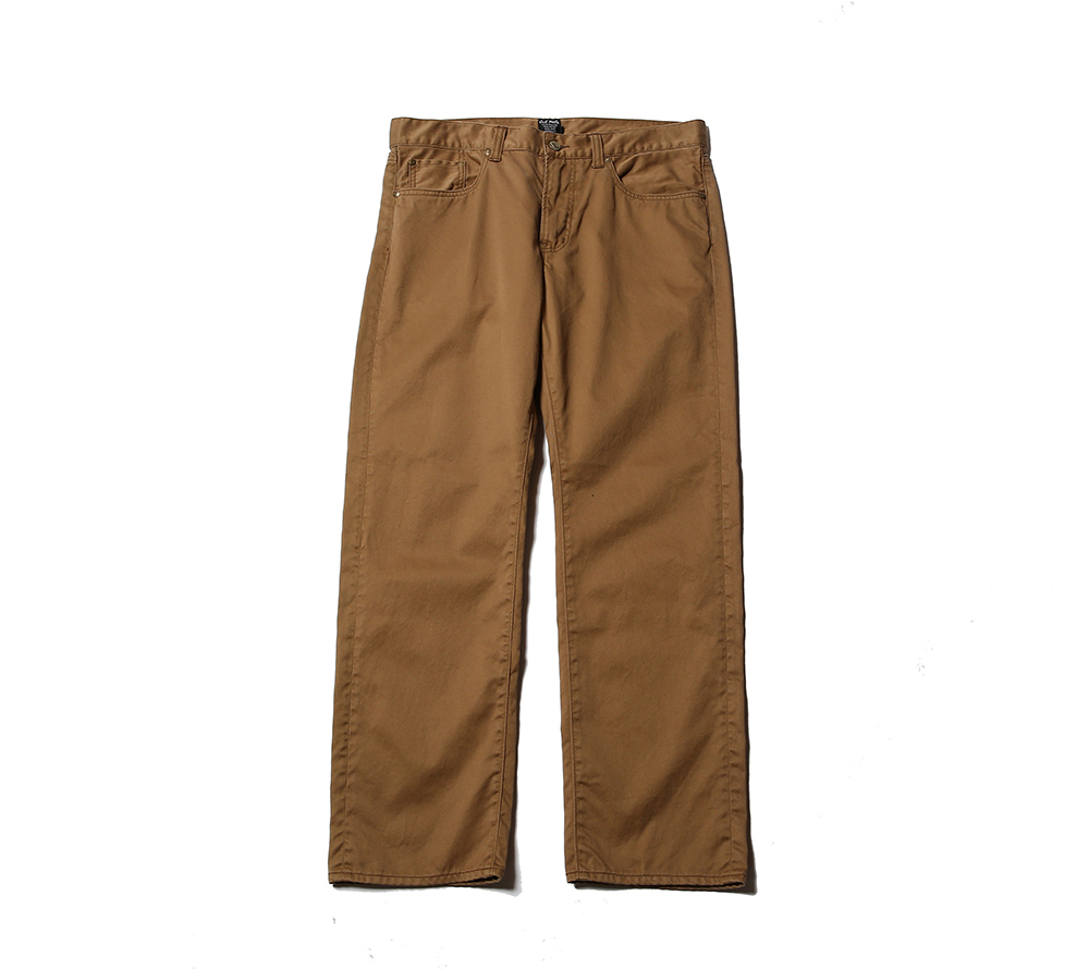 5 POCKET SLIM CHINO PANTS
