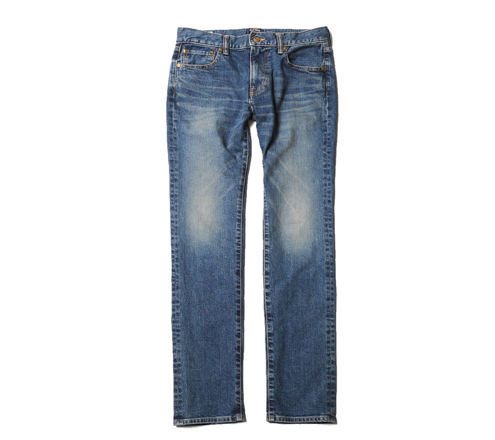 USED SKINY DENIM PANTS