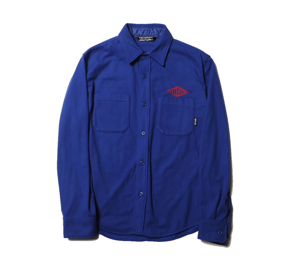 FLEECE L/S PLANE SHIRT