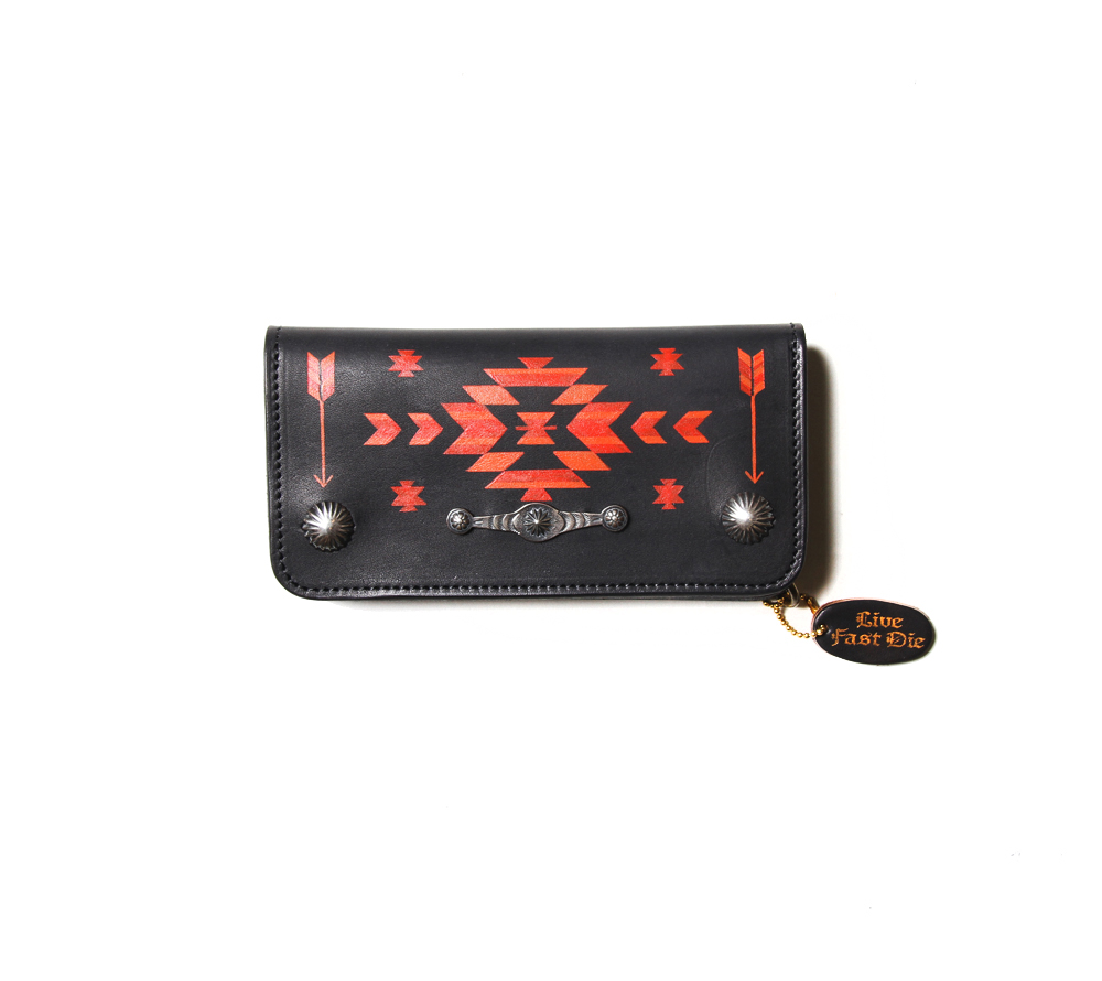 LIMITED NATIVE HAND PAINT WALLET