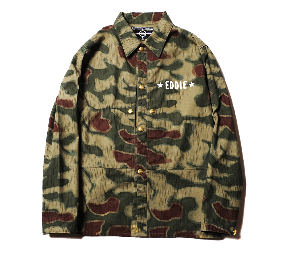 GERMAN CAMO COVERALL