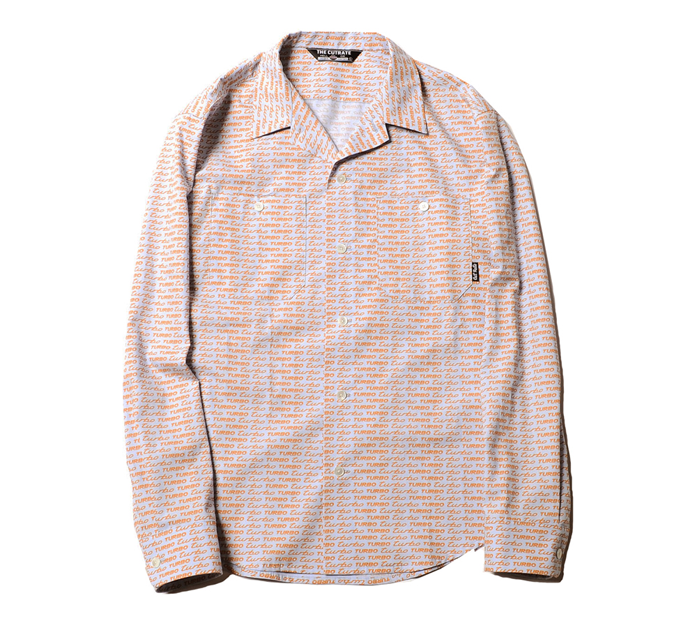 L/S TURBO ALLOVER PATTERN SHIRT