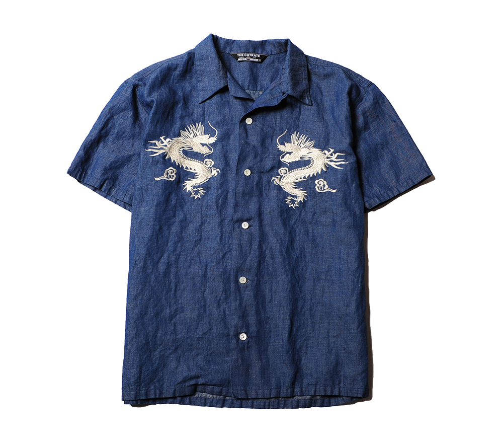 SOUVENIR CHAMBRAY S/S SHIRT
