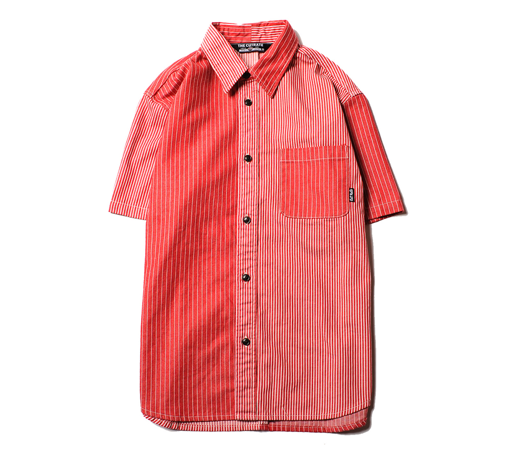 HICKORY STRIPE S/S SHIRT
