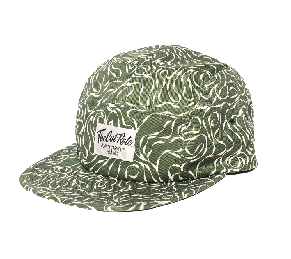 ALLOVER PATTERN JET CAP
