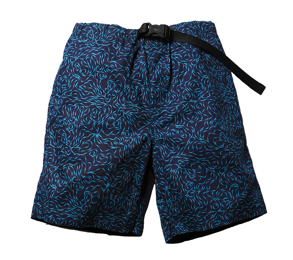 ALLOVER PATTERN EASY SHORT PANTS