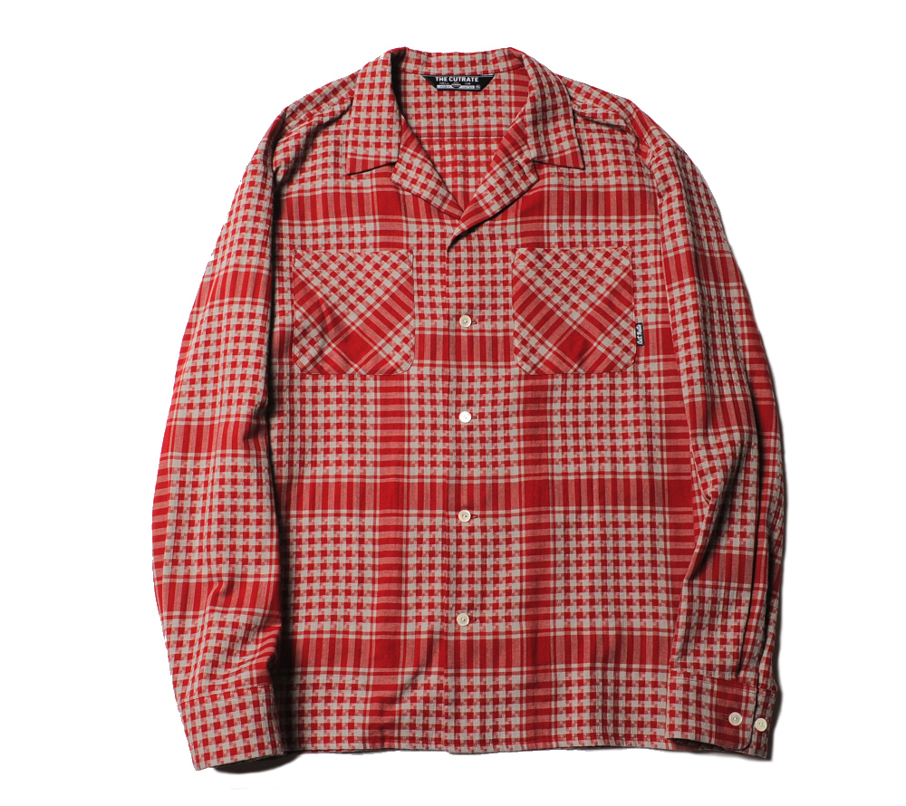 AFGHAN CHECK L/S SHIRT