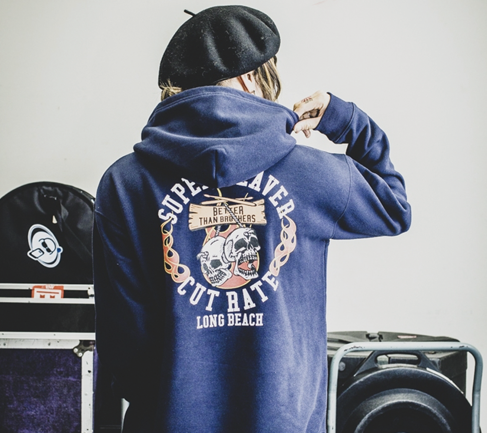 SUPER BEAVER×CUT RATE PULLOVER PARKA ※完全受注生産限定※