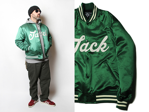 SATIN STADIUM JACKET
