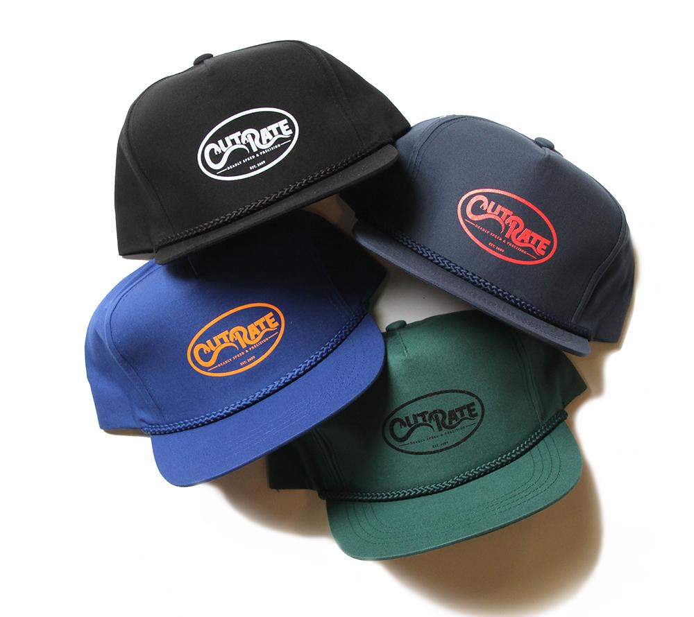 SNAKE LOGO PRINT TRUCKER CAP