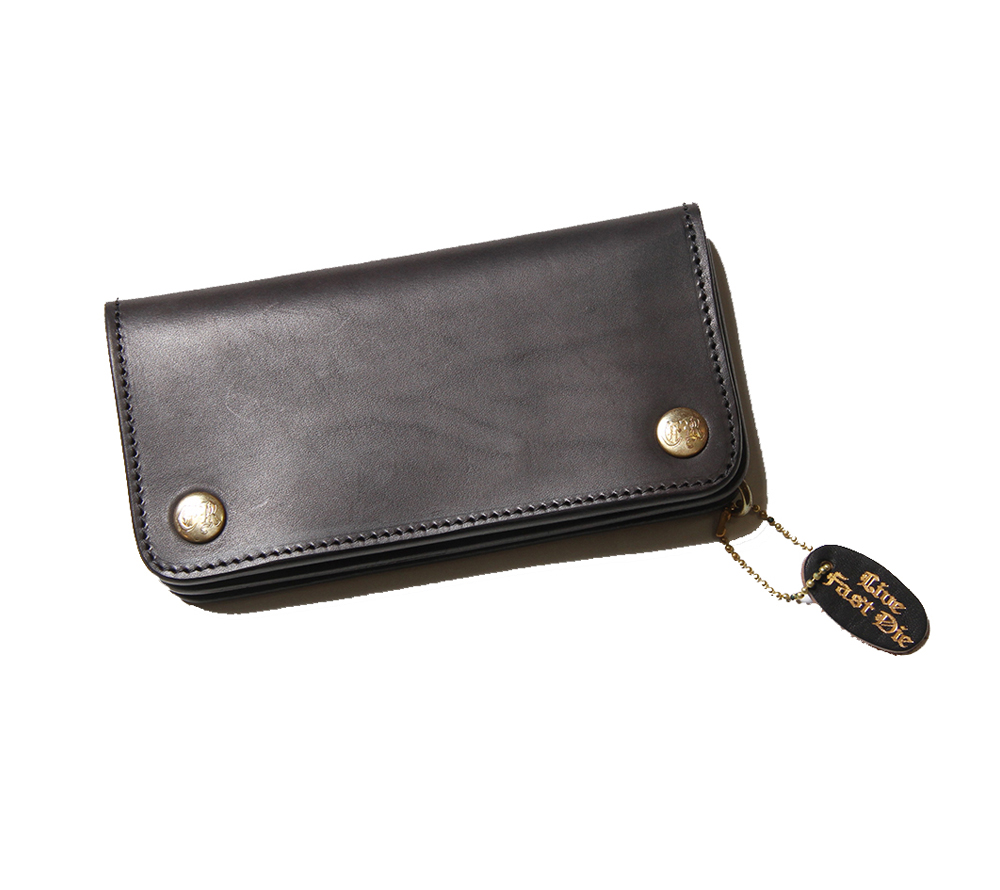 PLANE LEATHER LONG WALLET