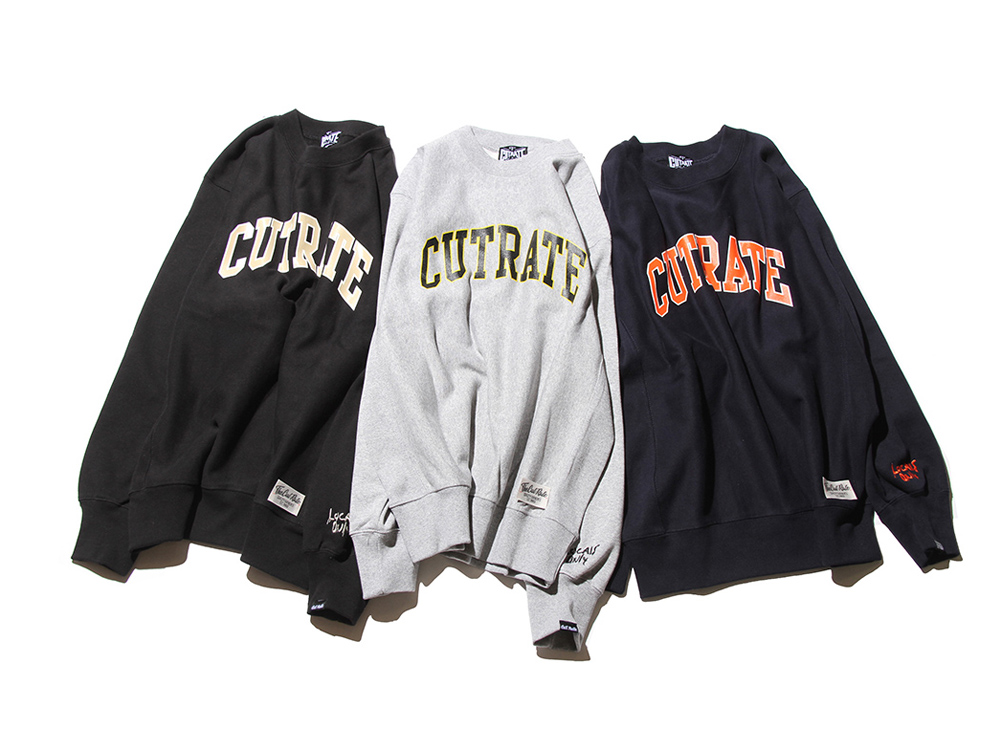 COLLEGE CREW SWEAT