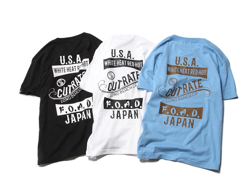 US&JP SIGNBOARD S/S T-SHIRT