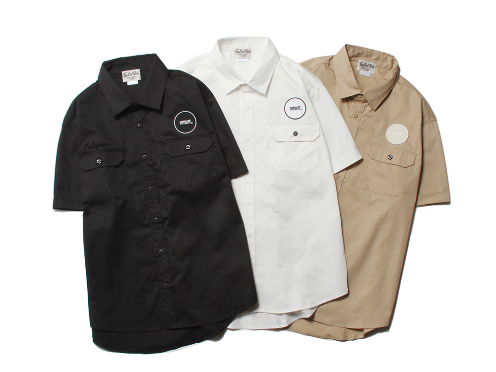 LOGO WAPPEN WORK SHIRT