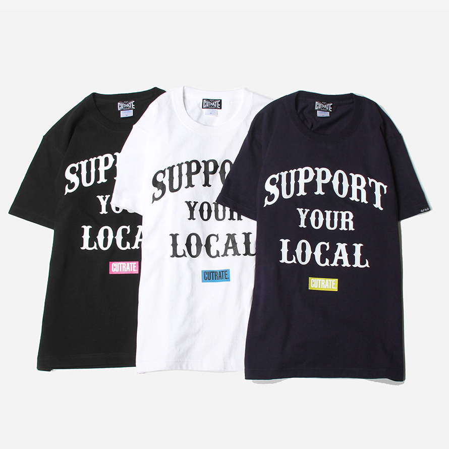 SUPPORT YOUR LOCAL HEAVY T-SHIRT