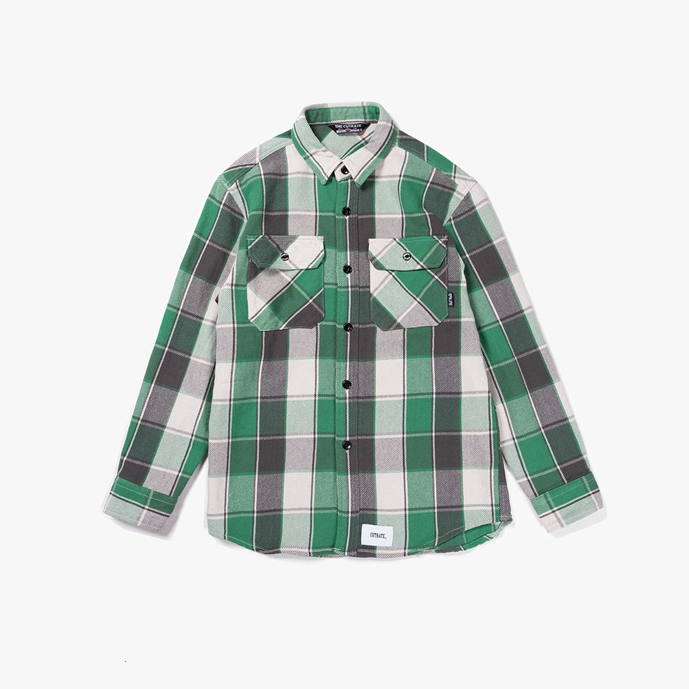 HEAVY NEL CHECK SHIRT